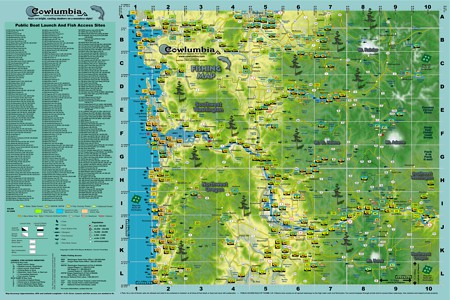 Cowlumbia Camping Map full size